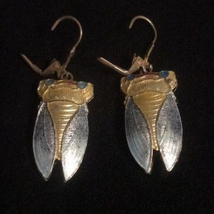 Jewelry - Cicadas earrings. So weird!